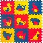 """Мягкий пол универсальный 33*33(см) """"Животные"""" , 1(м2)"""