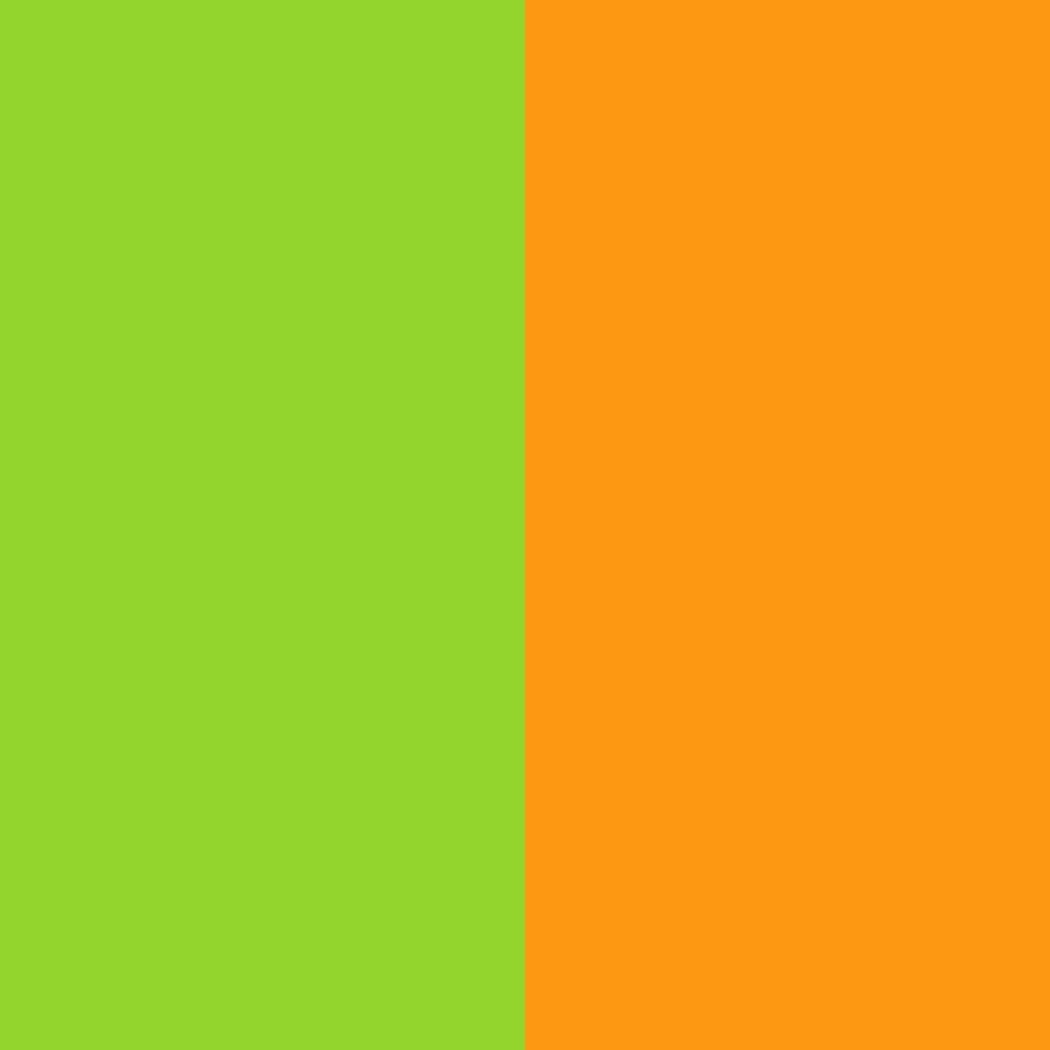 зелено-оранжевый